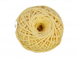 Sznurek bawełniany 3mm kremowy 50m