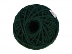 Sznurek bawełniany 3mm ciemny zielony 50m