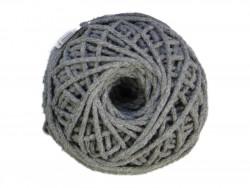 Sznurek bawełniany 3mm szary 50m