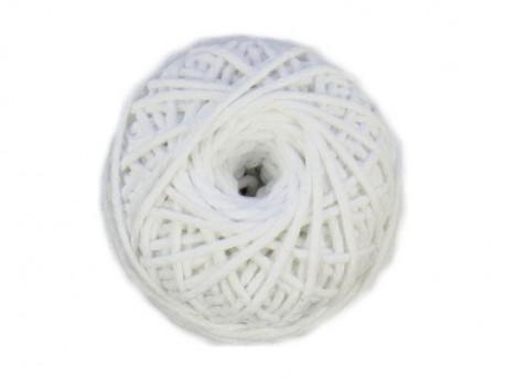 Sznurek bawełniany 2mm biały