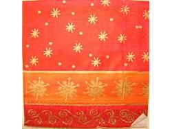 Serwetki Decoupage - Pierwsze płatki śniegu czerwone