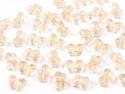 Koraliki motylki złote 5x9mm