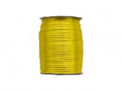 Sznurek satynowy 2mm żółty cytrynowy