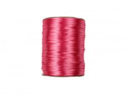 Sznurek satynowy 2mm różowy brudny