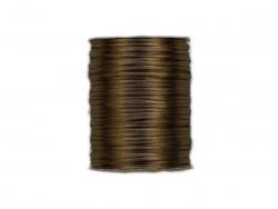 Sznurek satynowy 2mm brązowy jasny