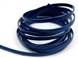 Rzemyk płaski 3mm niebieski