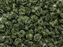 Atłasowe różyczki - 5szt. oliwkowe