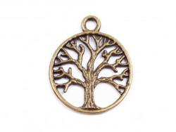 Zawieszka metalowa drzewo życia