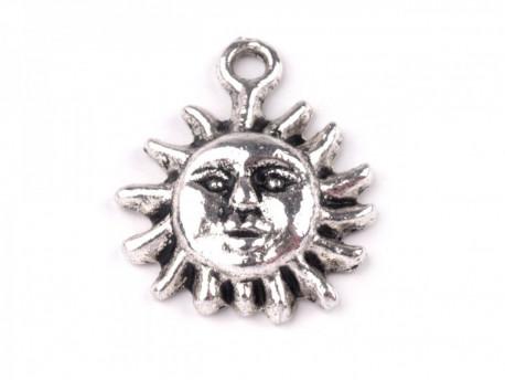 Zawieszka metalowa słoneczko