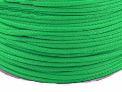 Sznurek poliestrowy 5mm - zielony 100m