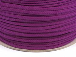 Sznurek poliestrowy 5mm - fioletowy ciemny 100m