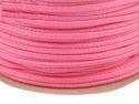 Sznurek poliestrowy 5mm - różowy brudny 100m