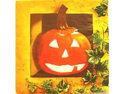 Serwetki Decoupage - Dynia Halloween
