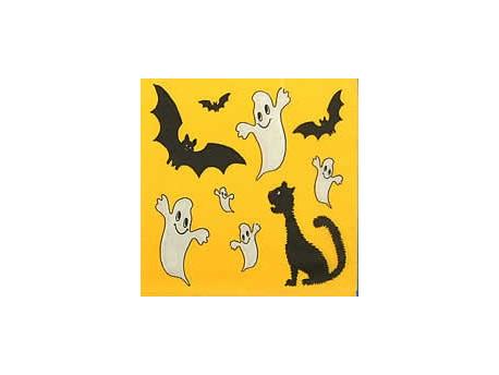 Serwetki Decoupage - Duchy, Czarny Kot i Halloween