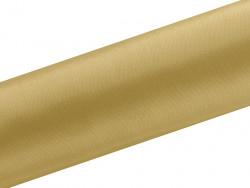 Satyna dekoracyjna 160mm złota