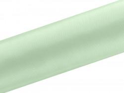 Satyna dekoracyjna 160mm miętowa