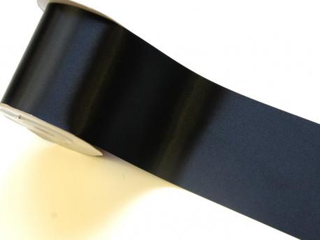 Wstążka satynowa 100mm - czarna
