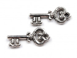 Zawieszka metalowa kluczyk ozdobny