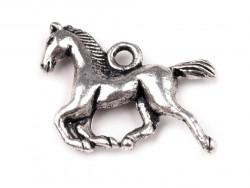 Zawieszka metalowa koń