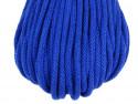 Sznurek bawełniany 5mm niebieski chabrowy