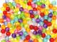Koraliki kuleczki 8mm mix kolorów 50szt