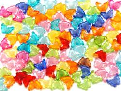 Koraliki motylki 15x11mm mix kolorów 50szt