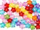 Koraliki gwiazdki 16mm mix kolorów 50szt