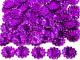 Cekiny kwiatki 22mm promienie fioletowe