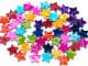 Koraliki gwiazdki 15mm mix kolorów 50szt