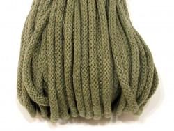 Sznurek bawełniany 5mm zielony khaki