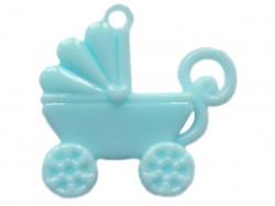 Zawieszka wózek niebieski BABY BOY
