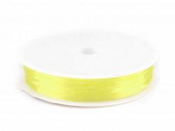 Żyłka okrągła elastyczna 0,4-0,6mm żółta