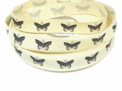 Tasiemka bawełniana 15mm motyl