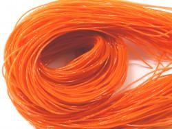 FILOFUN żyłka dekoracyjna do plecionek 25szt pomarańczowa