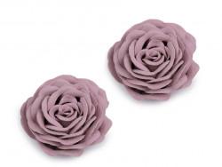 Róża ozdobna 40mm fioletowa