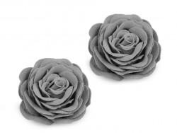 Róża ozdobna 40mm szara