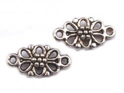Metalowy kwiatek do przyszycia/zawieszka/łącznik