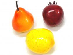 Owoce ozdobne (gruszka granat cytryna)