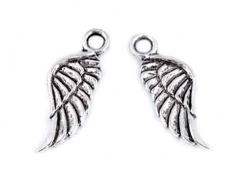 Zawieszka metalowa skrzydło Anioła