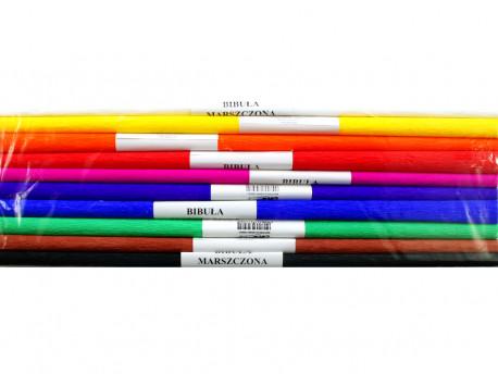 BIBUŁA krepowana komplet 10 kolorów