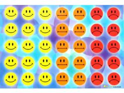 Naklejki buzie, bużki, emotikony, uśmiechy