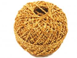 Sznurek / kordonek z lureksem złoty
