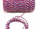 Sznurek bawełniany skręcany 1,5mm trzy kolory