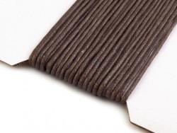 Sznurek Woskowany 2mm brązowy