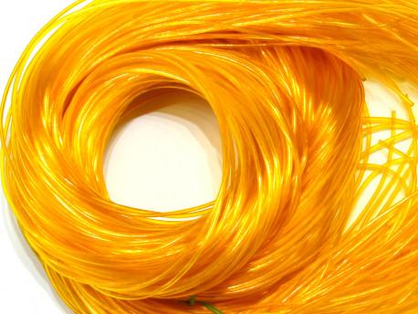 FILOFUN żyłka dekoracyjna do plecionek 25szt żółta