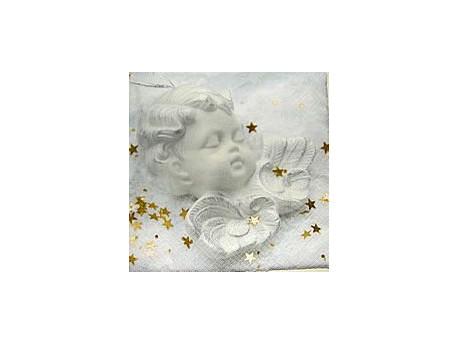 Serwetki Decoupage - Biały anioł