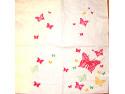 Serwetki Decoupage -Różowe motylki