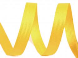 Tasiemka rypsowa 6mm żółta 27,4m