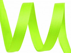 Tasiemka rypsowa 9mm zielona jasna 27,4m