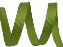 Tasiemka rypsowa 9mm zielona oliwkowa 27,4m